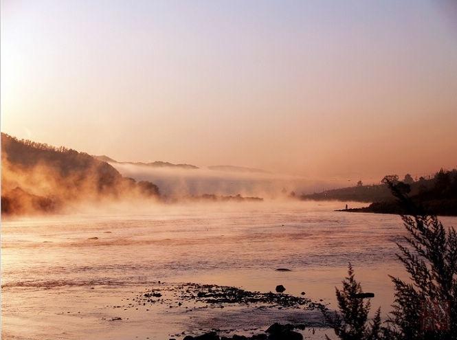 汤旺河区风景图片