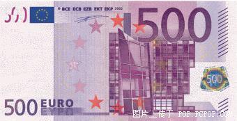 世界各国货币图片:欧元