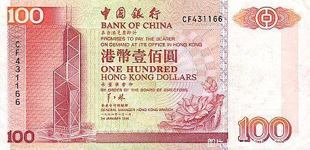 世界各国货币图片:中国香港-港币