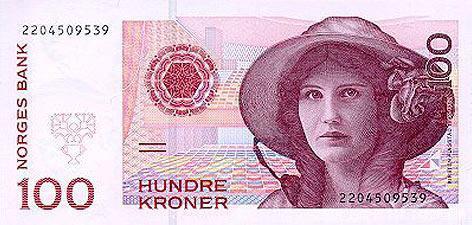 世界各国货币图片:挪威克郎