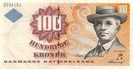 世界各国货币图片:丹麦克朗