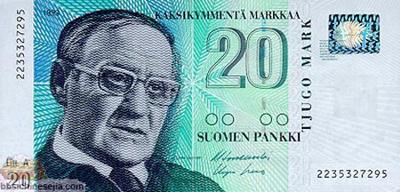 世界各国货币图片:芬兰/马克