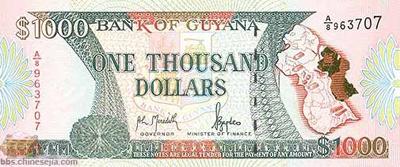 世界各国货币图片:圭亚那/元